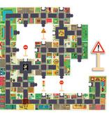 Djeco Djeco Puzzel Pop to Play - The City 25 stuks - 3Y+
