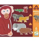 Djeco Djeco Puzzle Géant - Henri & Friends  3y+
