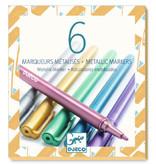 Djeco Djeco Metallic Stiften - 6 kleuren