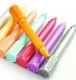 Djeco Djeco Wasco/Pastel stiften Pastel + Goud & Zilver - 8 stuks