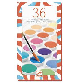 Djeco Djeco Waterverf 36 kleuren