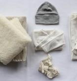 De Zaailing - Wollen Babyuitzet Set 2 + Wikkeldeken + Slaapzak - 10% Starterskorting