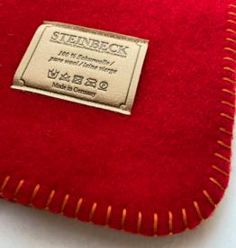 Steinbeck Deken 100% Wol model INN - Rood