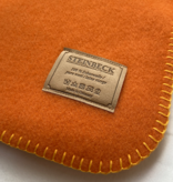 Steinbeck Deken 100% Wol model INN - Oranje