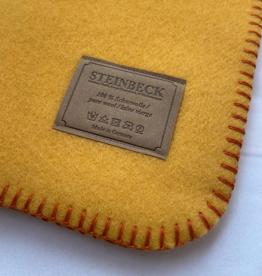 Steinbeck Deken 100% Wol model INN - Geel