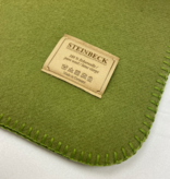 Steinbeck Deken 100% Wol model INN - Groen