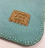 Steinbeck Deken 100% Wol model INN - Lichtblauw