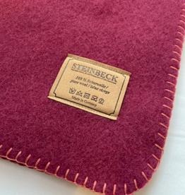 Steinbeck Deken 100% Wol model INN - Roze/Aubergine