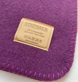Steinbeck Deken 100% Wol model INN - Paars