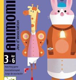 Djeco Djeco - Kaartspel Animomix 3-6y+