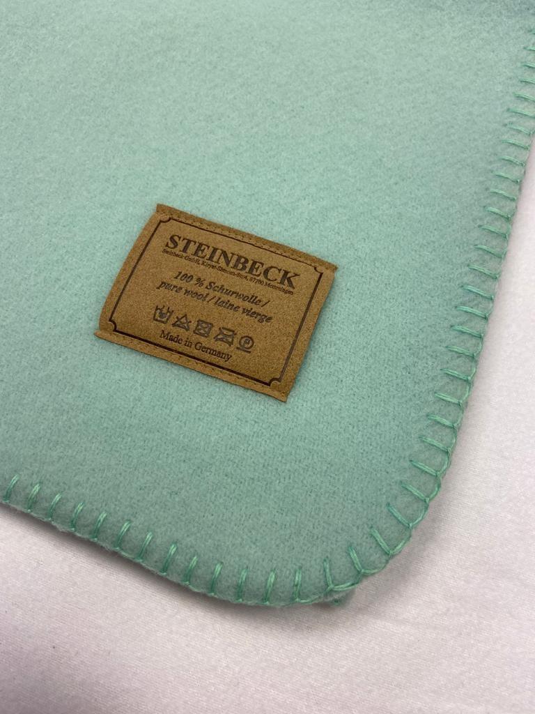 Steinbeck Deken 100% Wol model INN - Jade