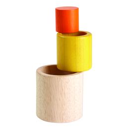 Plantoys Plantoys Stapelbekers / Nesting Cylinders 12m+