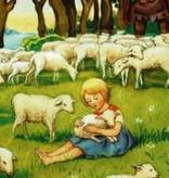 Elsa Beskow, Meisje met het lam 16003