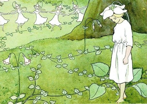 Elsa Beskow,Elfjes in het Beukenbos (16536)
