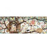 Djeco Djeco Gallerypuzzel - Tree house  200pcs 6Y+