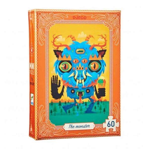 Djeco Djeco Mini puzzel - Monster  60pcs 5Y+