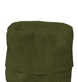 Disana Disana Tube scarf -100% wol - Olive/Antracite (581)