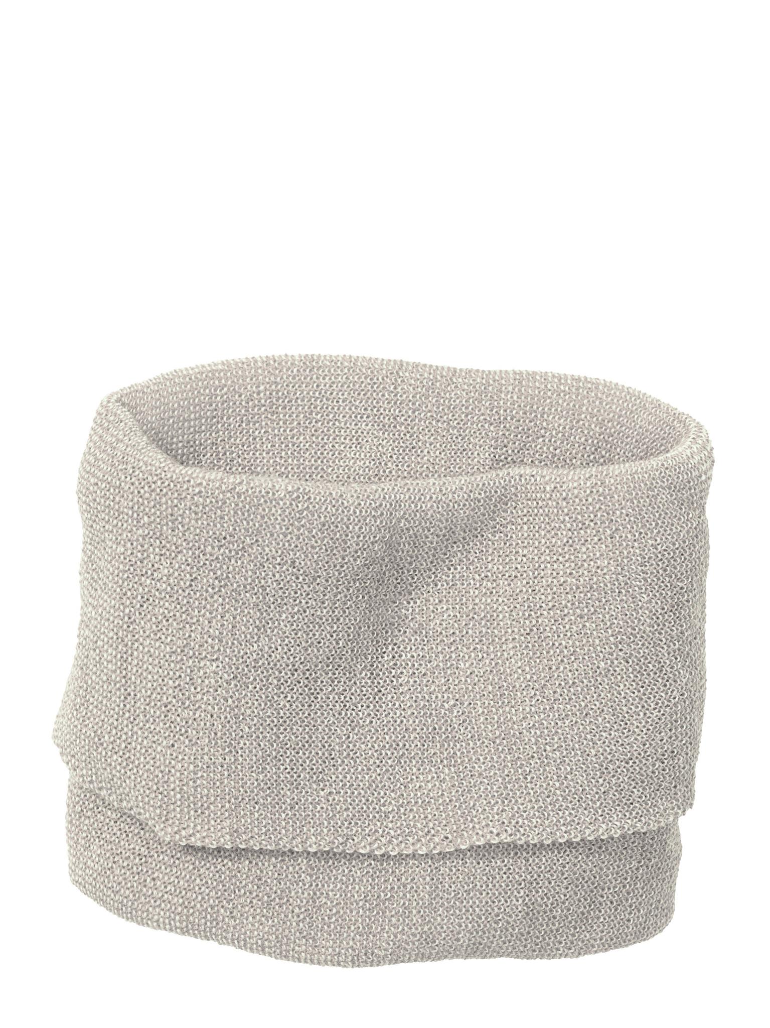 Disana Disana Tube scarf -100% wol - Grijs/Naturel (911)