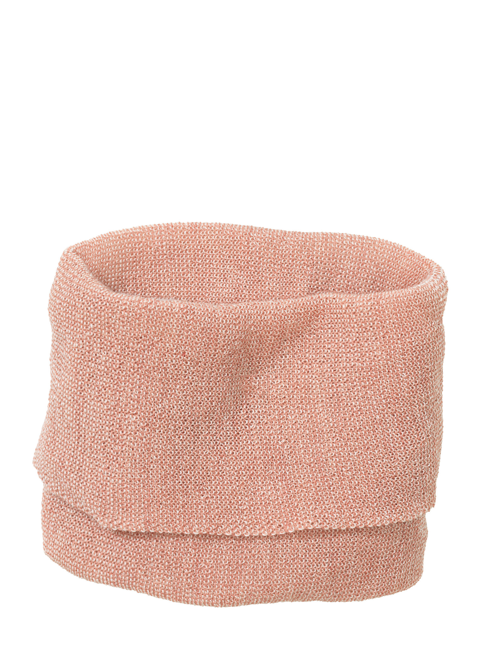 Disana Disana Tube scarf -100% wol - Rosé/Naturel (931)