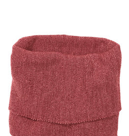Disana Disana Tube scarf -100% wol - Bordeaux/Rosé (933)