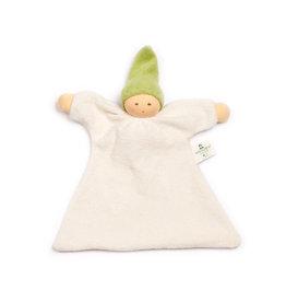 Nanchen Nänchen Natur - Lappenpopje - Groen mutsje