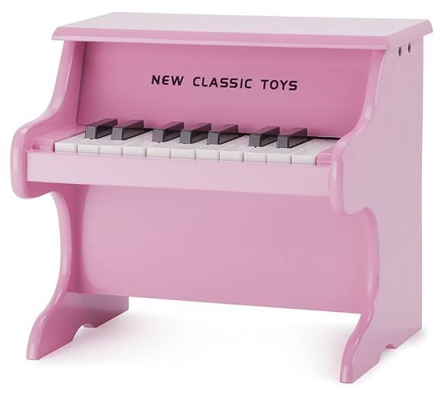 Mooie Houten Piano.Speelgoed Piano Hout