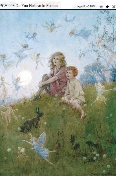 Margaret Tarrant Do You Believe in Fairies? PCE 008