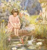 Poster Margaret Tarrant The Water-Lily Pond PMP 81