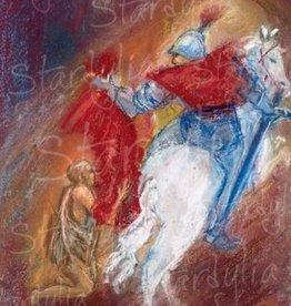 Marjan van Zeyl, Martinus deelt mantel met bedelaar (339)