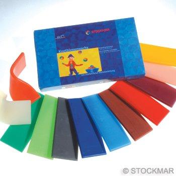 Stockmar Stockmar bijenkneedwas 12 kleuren