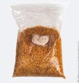 Stockmar Bijenwaskorrels zak 1 kg met 10 meter dun lont