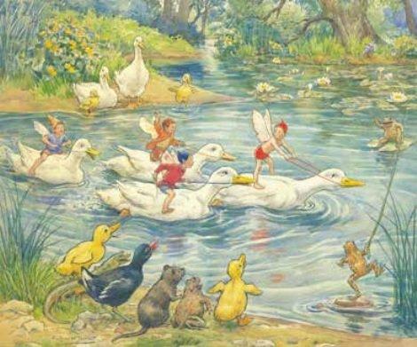 Margaret Tarrant, Water Sports PCE 032