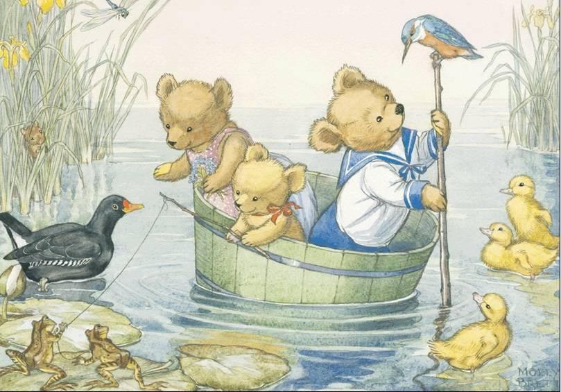 Molly Brett, A Trip on the River PCE 055 Ansichtkaart