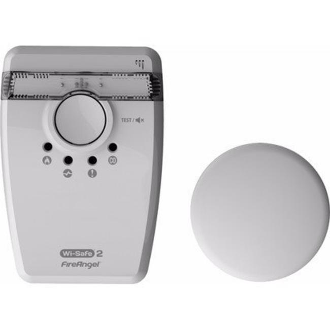 Fire Angel Fire Angel W2-SVP-630-EUT Wi-Safe draadloos koppelbare flitslicht en trilplaat