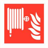 Veiligheidspictogram brandhaspel