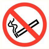 Veiligheidspictogram verboden te roken