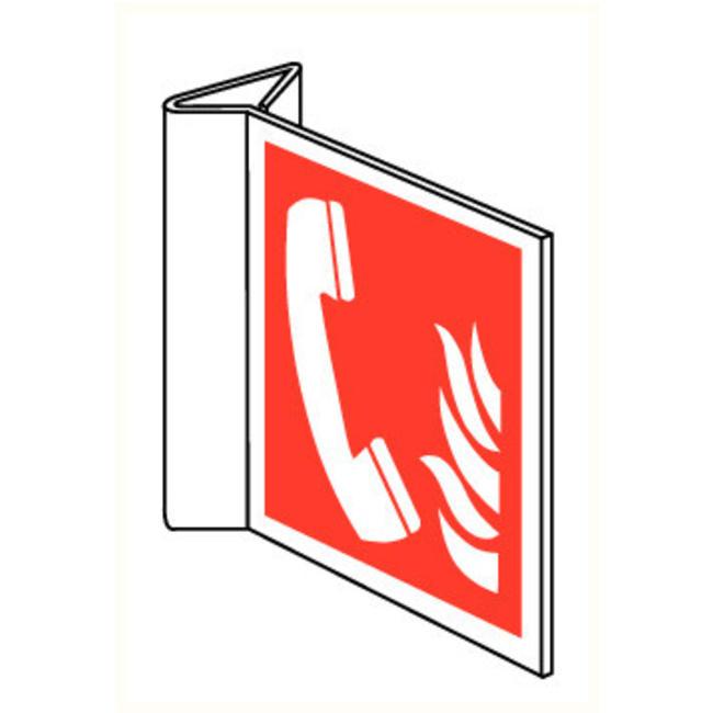 Pikt-o-Norm Veiligheidspictogam telefoon brand