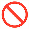 Pikt-o-Norm Veiligheidspictogram verboden toegang
