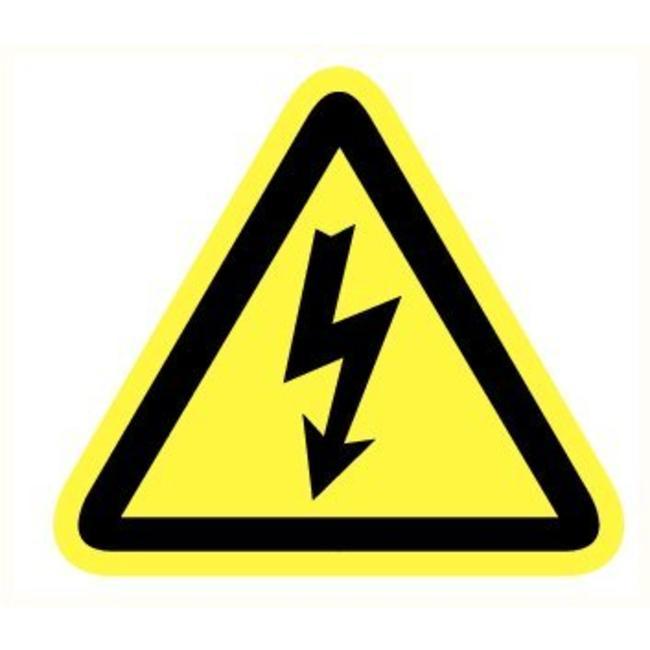 Pikt-o-Norm Veiligheidspictogram gevaar elektriciteit