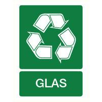 Pikt-o-Norm Pictogram recyclage glas