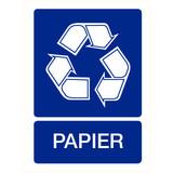 Pictogram recyclage papier