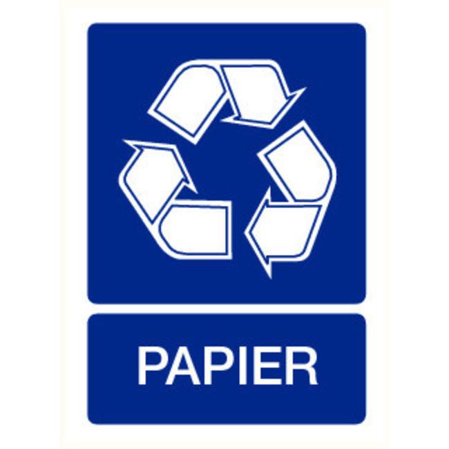 Pikt-o-Norm Pictogram recyclage papier