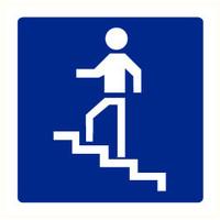 Pikt-o-Norm Pictogram trappen