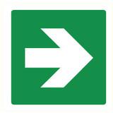 Pictogram pijl groen