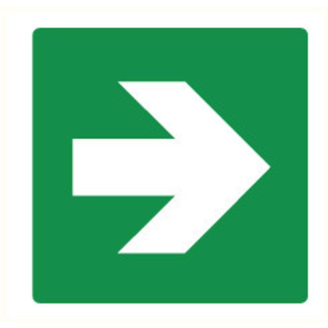 Pikt-o-Norm Pictogram pijl groen