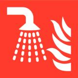 Veiligheidspictogram sprinkler