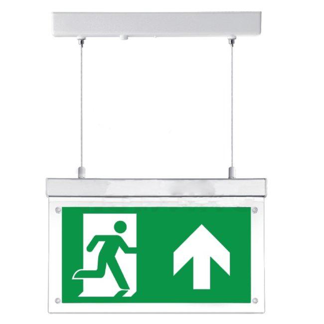 Brandbeveiligingshop Noodverlichtingsbord LED met richtingslabels