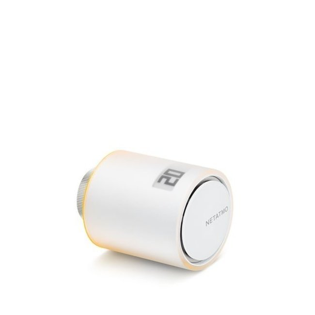 Netatmo Netatmo pakket slimme thermostaat + 3 additionele slimme radiatorkranen