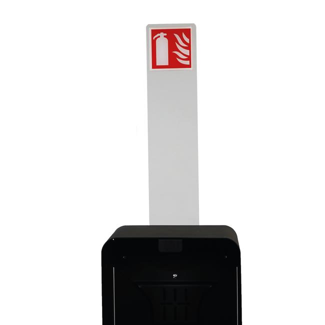 Designfeu Totem met pictogram voor design brandblusserkast Harmony