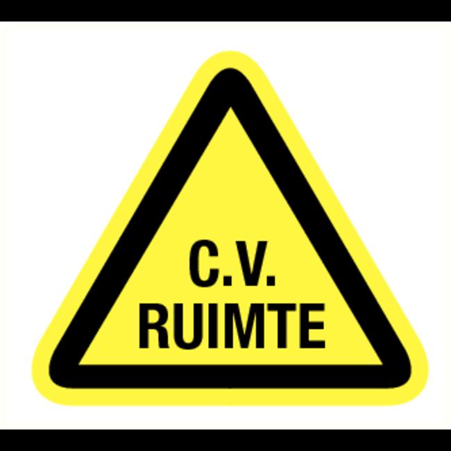 Pikt-o-Norm Pictogram waarschuwing C.V. Ruimte